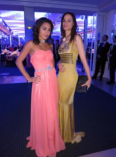 Diner de la Mode 2013-Melissa Mars,Joséphine Jobert