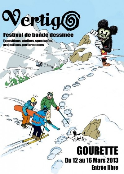 VERTIGO-festival de bande dessinee