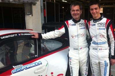 FFSA GT 2013 Eric Dermont et Enzo Guibbert