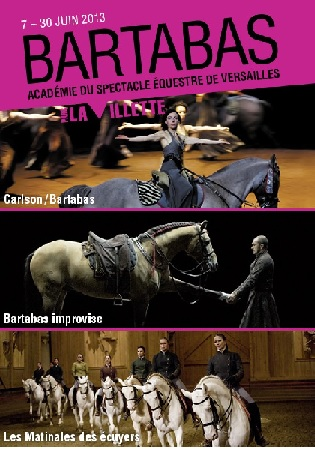 We were horses, Bartabas