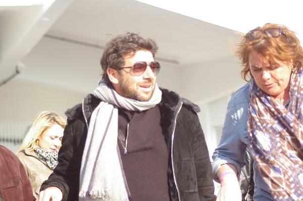 Patrick Bruel  à Cannes en Janvier dernier