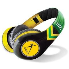 Un casque aux couleurs de la Jamaïque