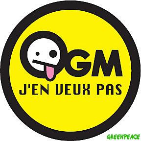 Greenpeace, OGM j'en veux pas