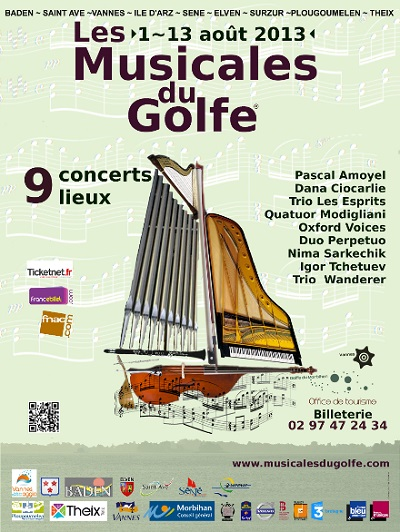 Les Musicales du Golfe, édition 2013