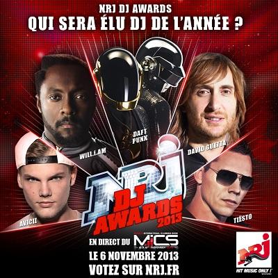 2ème édition des « NRJ DJ AWARDS »,