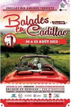 Un été dans les vignes ! Cadillac Côtes de Bordeaux.