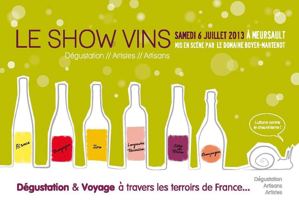 affiche show vins
