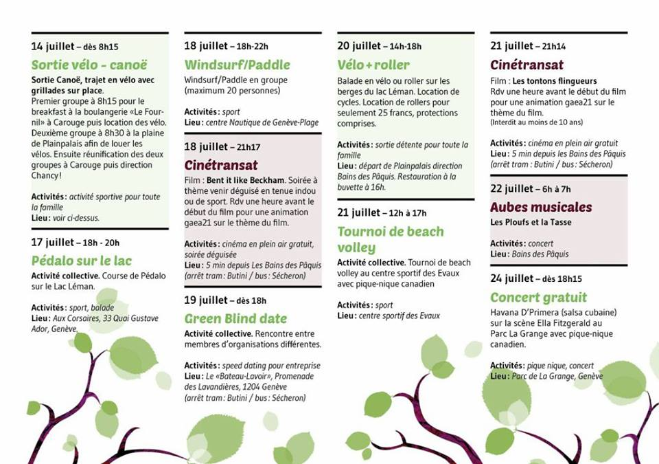 green event serie 2