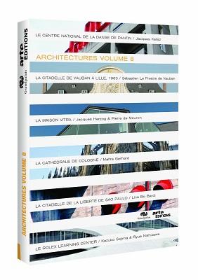 Architectures volume 8, un DVD édité par Arte Editions