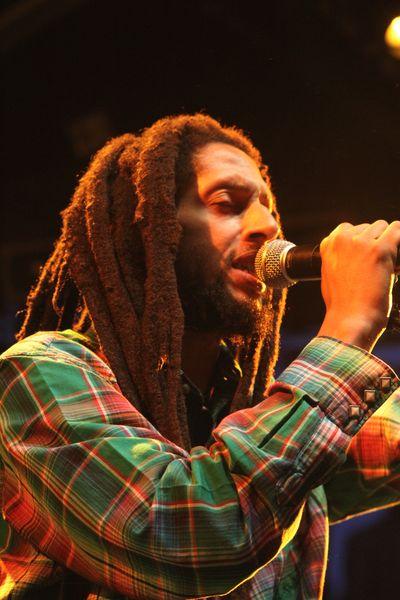 Julian Marley  Reggae à Nice au Théâtre de Verdure