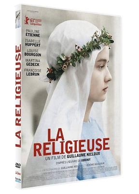 Sortie en DVD le 4 septembre 2013 du film « La Religieuse »