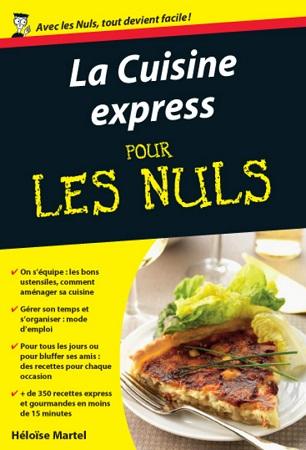 La cuisine express pour les nuls chez first ditions for Mr cuisine edition plus