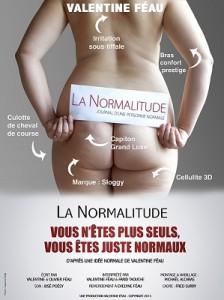 Paris, France. 26 Avril 2013 La Normalitude - Valentine Feau