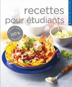 carnet de cuisine recettes pour tudiants aux ditions larousse. Black Bedroom Furniture Sets. Home Design Ideas