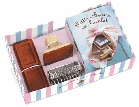 coffret petits beurre au chocolat des ditions larousse. Black Bedroom Furniture Sets. Home Design Ideas