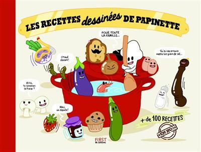 les-recettes-dessinees-de-papinette-first-editions