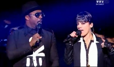 Will I Am et Alizee