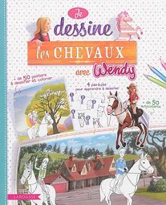 je-dessine-les-chevaux-avec-wendy-larousse