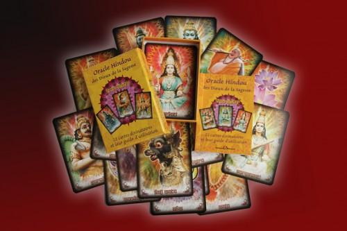 l 39 oracle hindou des dieux de la sagesse un tr s beau jeu de cartes. Black Bedroom Furniture Sets. Home Design Ideas