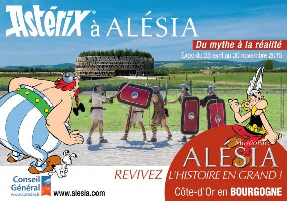 affiche exposition muséoparc alésia