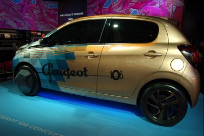 Peugeot 108 Concept Car