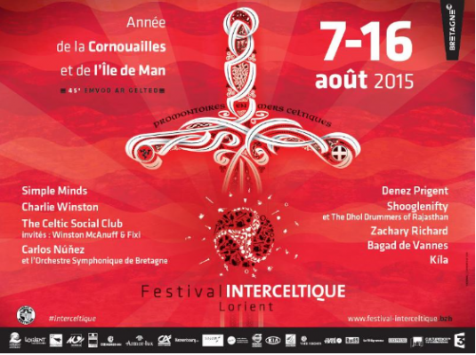 festival interceltique 2015
