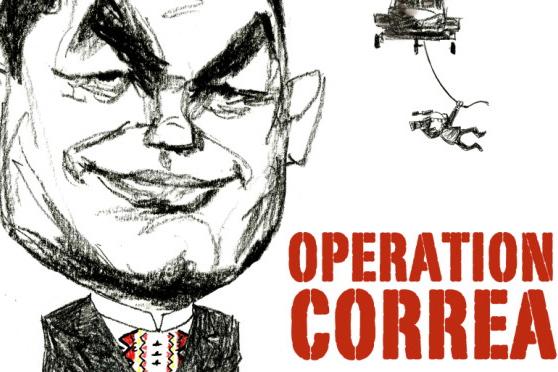 L'enquête sur la politique de CORREA