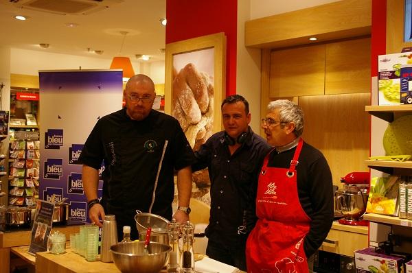 Michel Boujenah cuisine chez  Alice Delice Clermont Ferrand