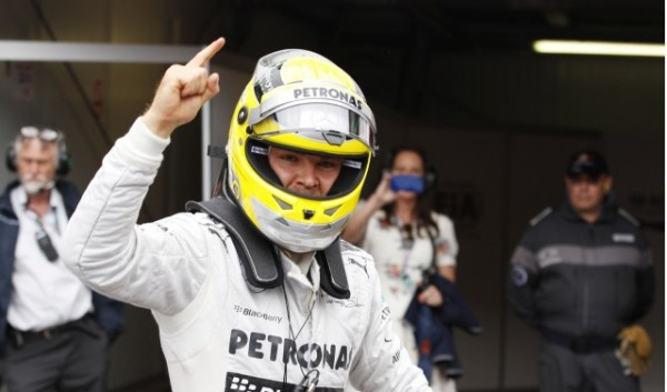 Nico Roseberg GP Monaco