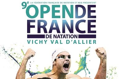 Open de France de Natation en juillet à Vichy