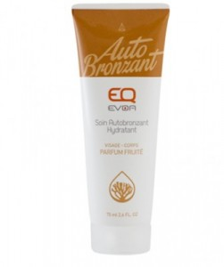 Photo EQ EVOA Soin Autobronzant Hydratant