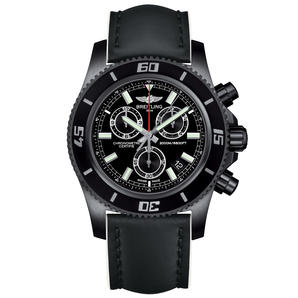 SUPERCEAN CHRONOGRAPH M2000 BLACKSTEEL 1