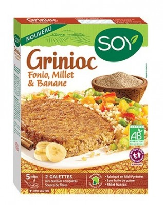 3DGrinioc Fonio, Millet & Banane
