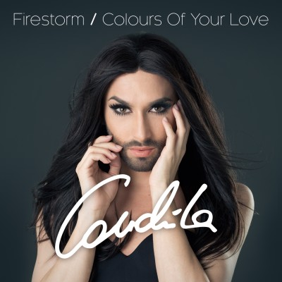 Conchita Single Cover Firestorm Colours Of Your Love
