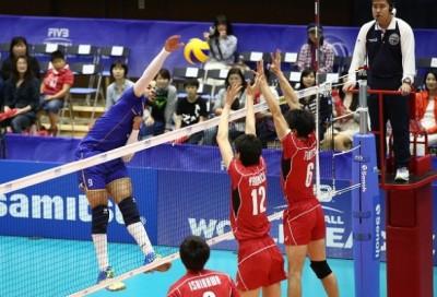 Ligue Mondiale 2015  Japon - France