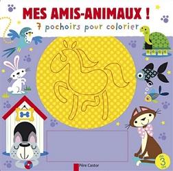 7-pochoirs-pour-colorier-mes-amis-animaux-flammarion