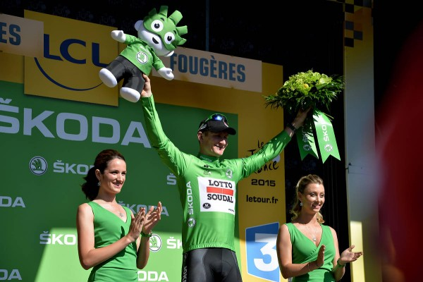 André Greipel vainqueur de la 5ème étape à Amiens (Crédit : ASO/B.Bade)