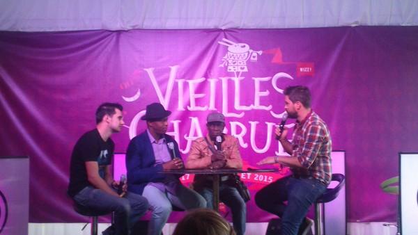 Tony Allen & Oxmo Puccino: Vieilles charrues 2015