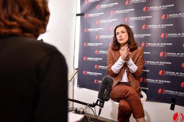 Natacha Lindinger copyright Festival de télévision de Monte-Carlo