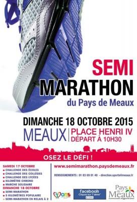 Semi marathon du pays de Meaux