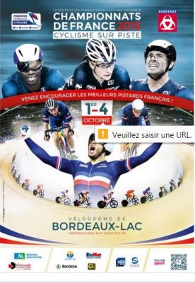 Championnats de France cyclisme sur Piste