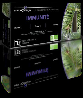 Immunite-Ampoules nouvelle génération de Diet Horizon