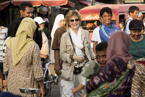 Sur un marché de Supayang  Photo service de presse  © Gilles Bassignac/Prod Boréales