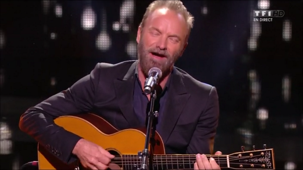 Sting Solo Nrj Music Awards