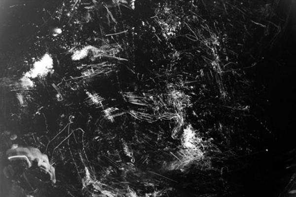 Cécile Hartmann, Sediments & Lacunas, Wall Street, Hiroshima, 2015 (Partition 2). Impression numérique sur papier affiche, 90 x 150 cm. Courtesy de l'artiste