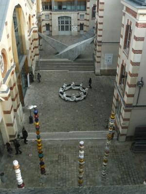 Follia Continua, vue de la tourelle au 5 rue Curial