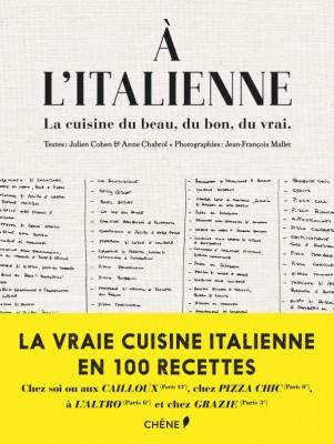 A l'italienne éditions chêne