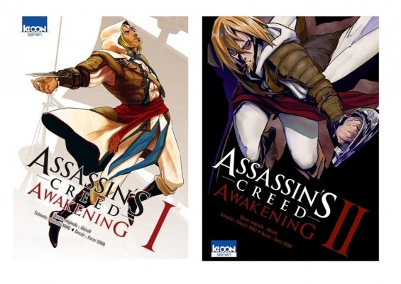 Assassin's Creed tome 1 et 2 ©éditions Kioon