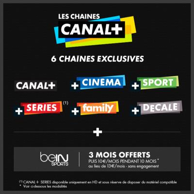 Canal + Canal Sat vente privée