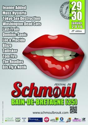 Affiche officiel Festival du Schmoul 2016